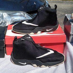 Nike air zoom flight Glove gary payton black white
